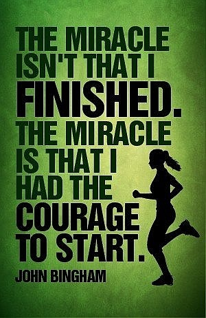courage to start motivational quotes racing to zen