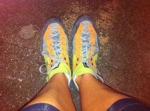 Climbin' shoes