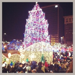 Tree Lighting on Public Square