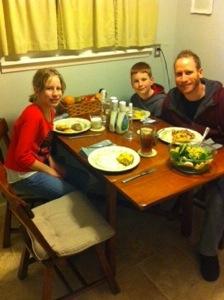 Family Dinner Time