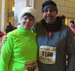 Karen & Jim, Christmas Story Race 2013